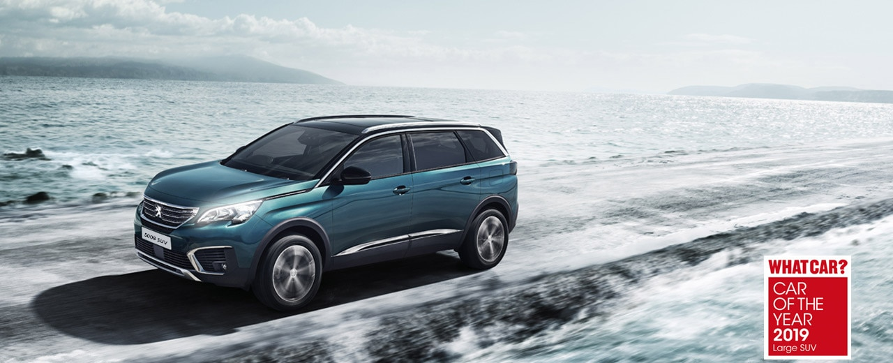 5008 SUV Car of the year - Large SUV 2019