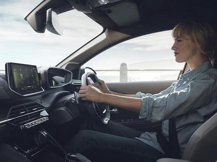 All-new 208 interior