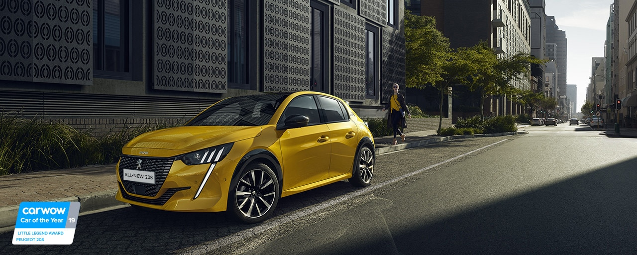 ALL-NEW PEUGEOT 208 – New expresive front end