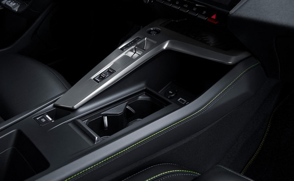 New PEUGEOT 308 – Central console with large arch