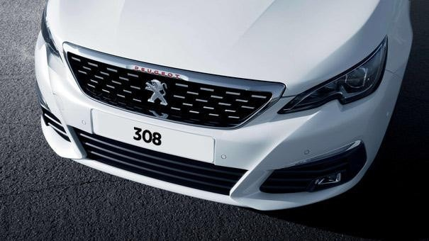Peugeot 308 front grille