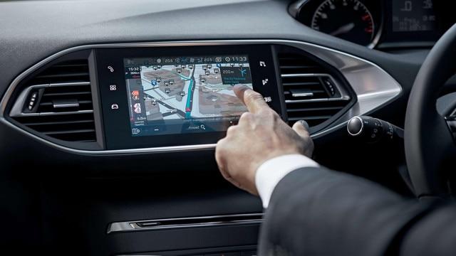 Peugeot 308 3D Navigation
