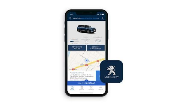 New PEUGEOT 5008 SUV, MyPeugeot® App
