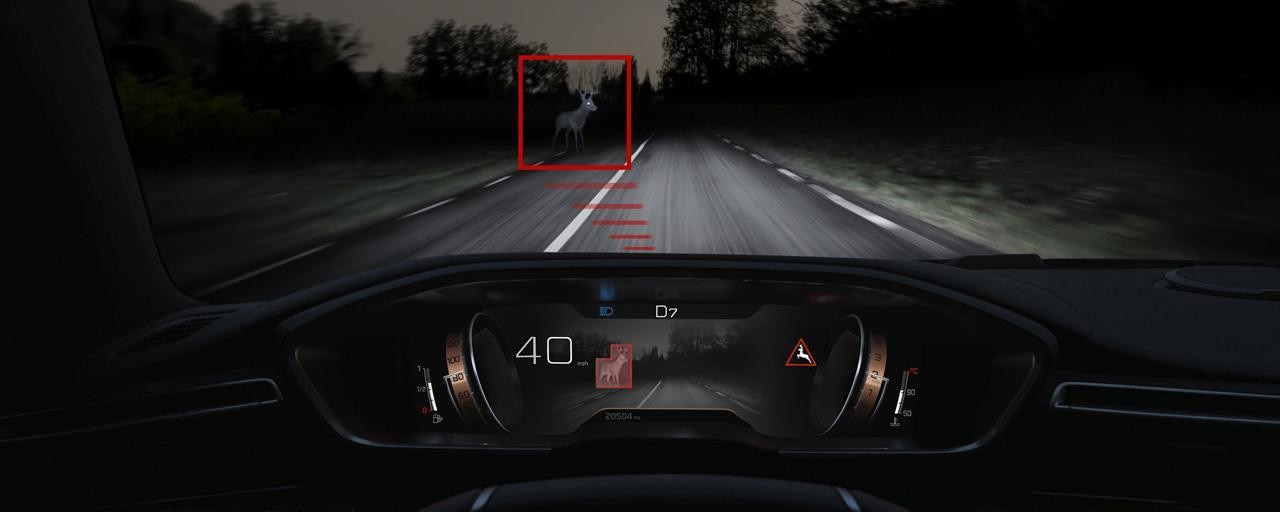 New 508 Fastback - Night Vision technology