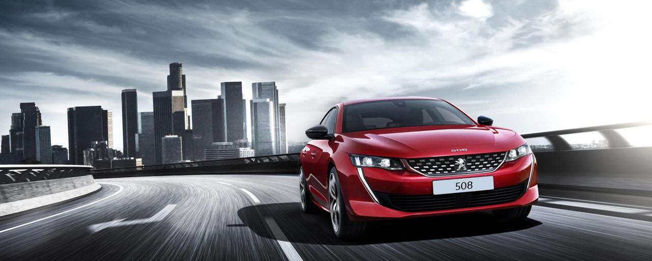 New Peugeot 508 -Elegant Saloon Car
