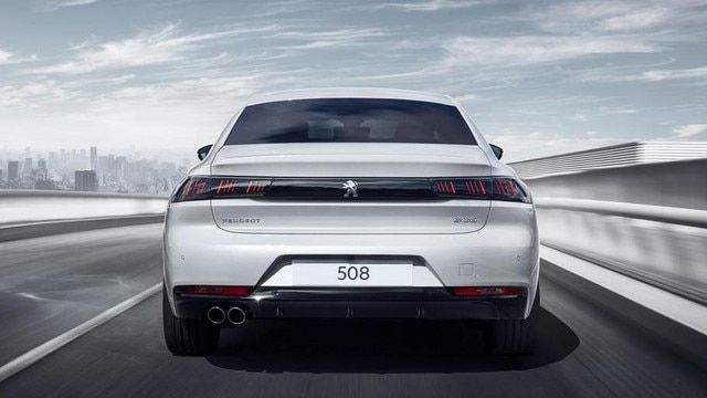New 508 Fastback - white - rear view