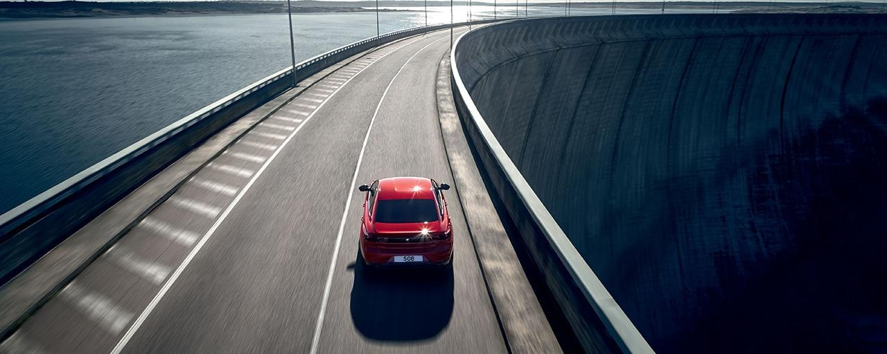 Peugeot 508 Fastback Rear