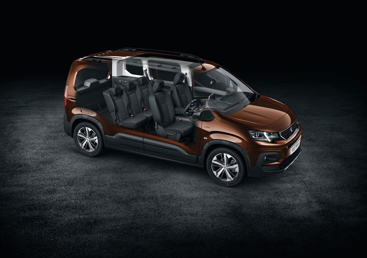 All-new Peugeot Rifter interior space