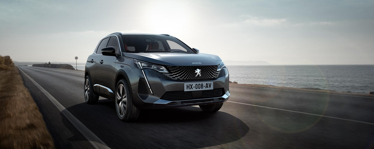 New PEUGEOT 3008 SUV – new front end with strong personality