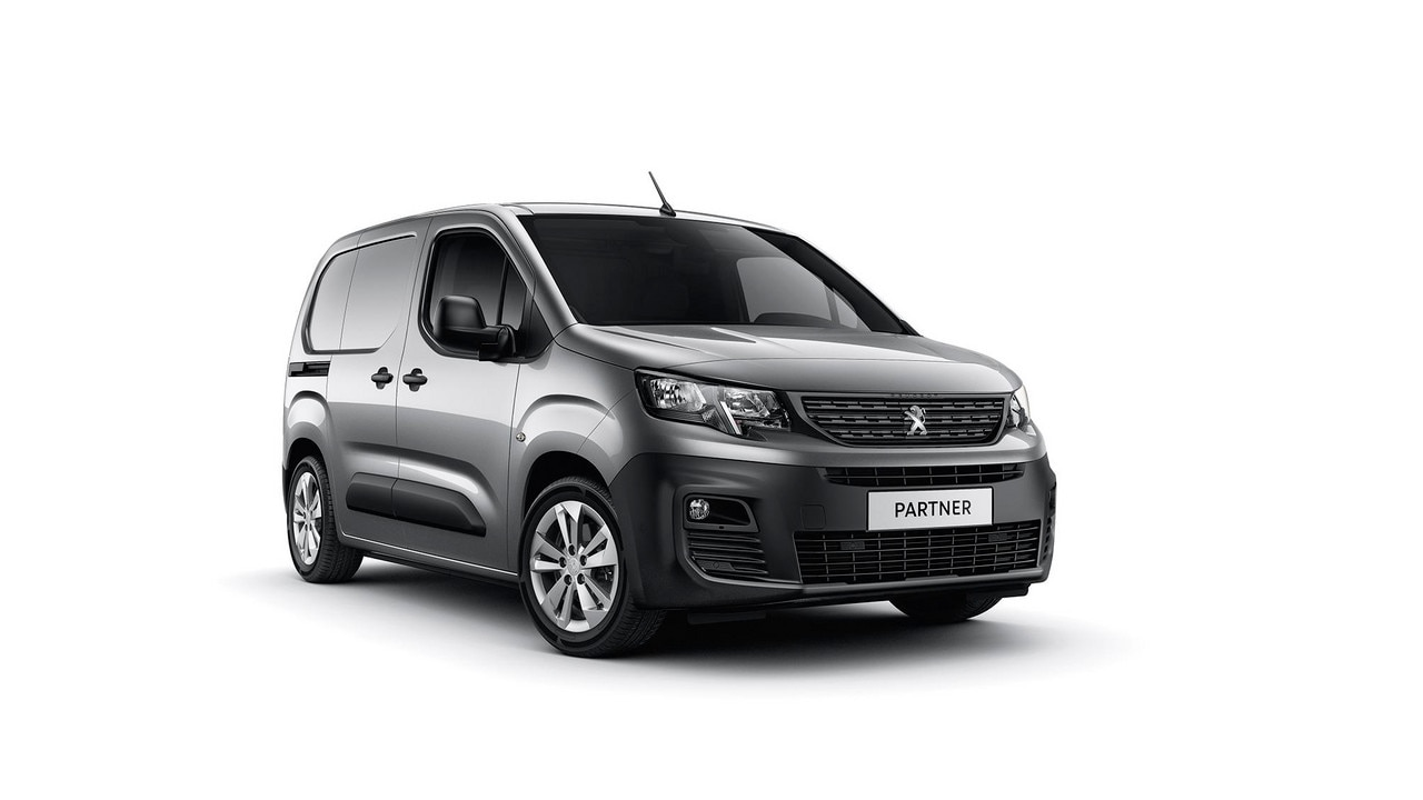 New PEUGEOT PARTNER Asphalt: for those who love to eat up the miles.