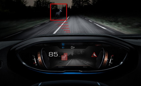 New PEUGEOT 3008 SUV – Night Vision driving assistance