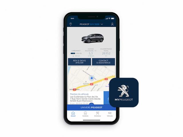 NEW PEUGEOT 3008 SUV – MyPeugeot app