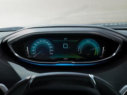 New PEUGEOT 3008 SUV HYBRID – High-quality digital instrument panel