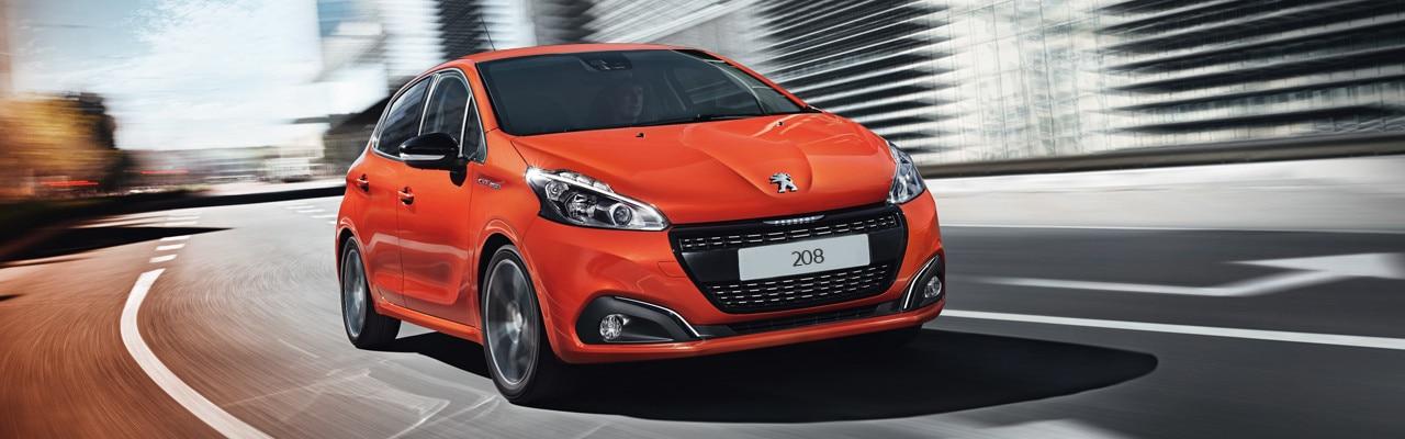 Peugeot 208 Orange City Car