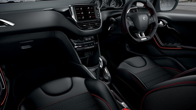 Peugeot 208 Interior look