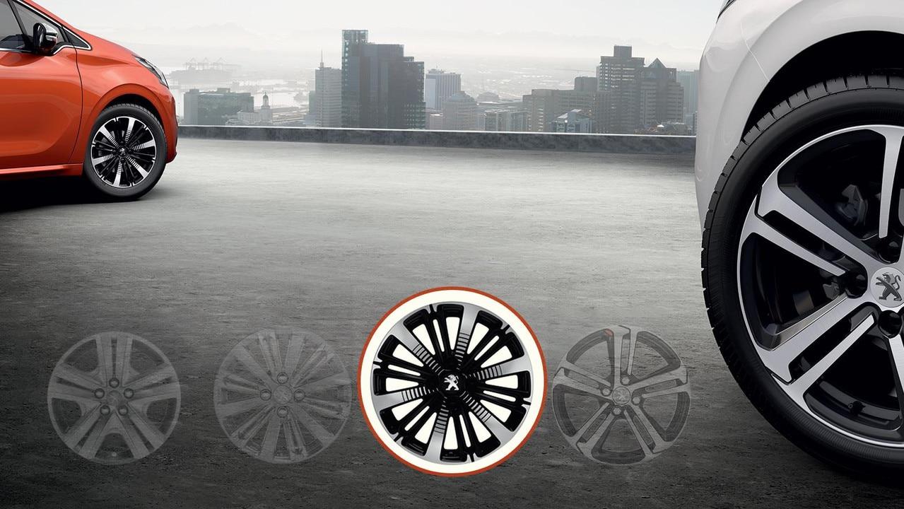 Peugeot 16 Titane Matt Black wheels