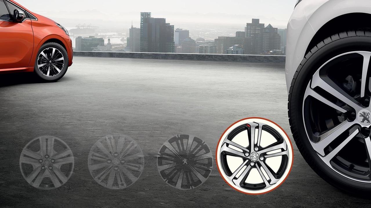 Peugeot 17 Caesium Wheels