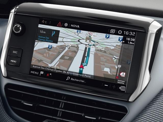 Peugeot 208 Satellite Navigation