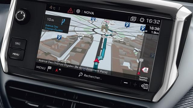 Peugeot 208 Satellite Navigation