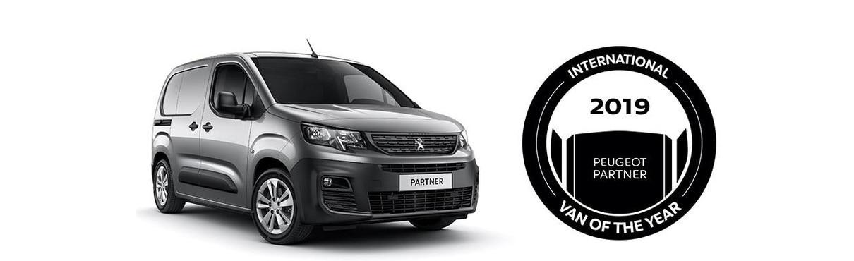 New Peugeot Partner Showroom | Small Van