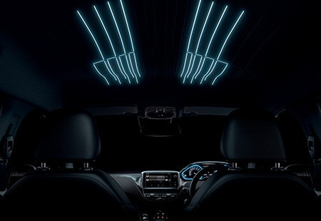 Peugeot 2008 SUV Interior Lighting