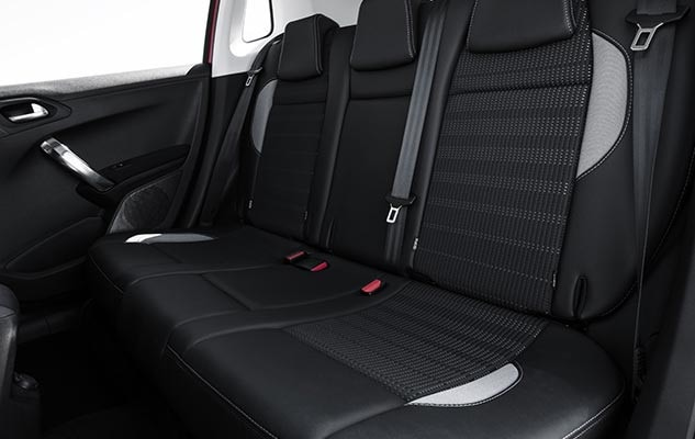 Peugeot 2008 SUV Seats