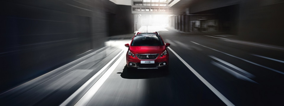 Peugeot 2008 SUV rear view